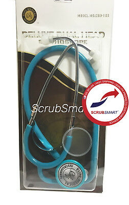 US Seller New Dual Head Stethoscope FREE Fast Ship Color: Teal
