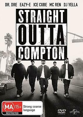 Straight Outta Compton - DVD Region 4 Free Shipping!