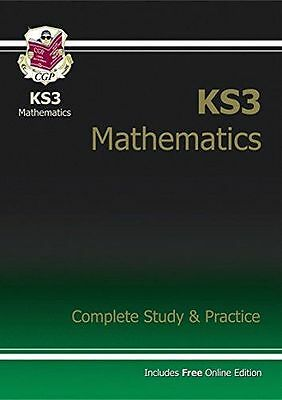 KS3 Maths Complete Study & Practice with online edition (PB) ISBN1841463833