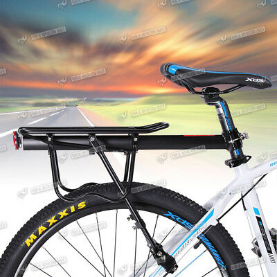 New Bicycle Outdoor MTB Mountain Bike Black Rear Pannier Carrier Rack Seat Post