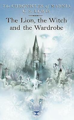 The Lion, the Witch and the Wardrobe by C.S. Lewis Paperback Book Free Shipping!