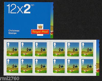 2015 CHRISTMAS 12 x 2nd BOOKLET - CYLINDER LX49