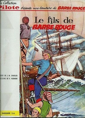 Rarissime Eo 1963 Collection Pilote Hubinon + Charlier : Le Fils De Barbe Rouge