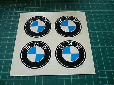 BMW Wheel Centre Stickers  - 25mm
