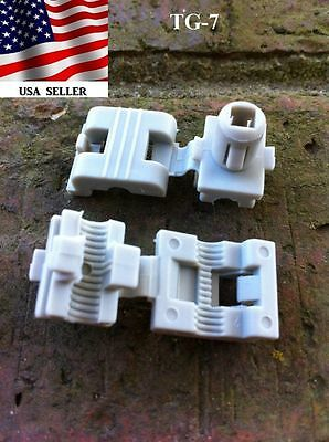 GM Door Lock Rod Clips Chevy GMC Buick Pontiac Saturn Cadillac Olds 1-Pair  TG-7