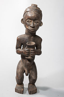 Fang, Male Reliquary Statue, Central Gabon, African Tribal Art, Sculpture