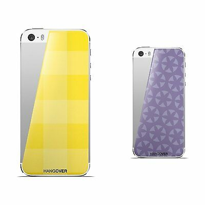 2 skins for IPHONE 5 Hangover CANDLE/lavanda + PICNIC/yellow