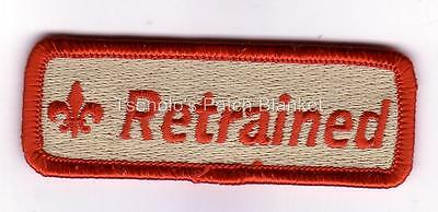 RETRAINED Training Strip Private Issue Mint Condition FREE SHIPPING