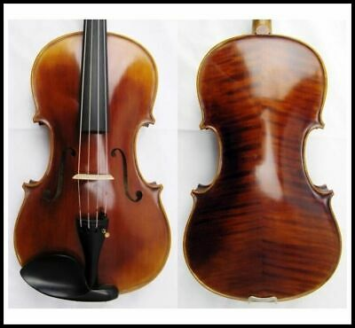 "Master Series 16 1/2"" Viola Labeled Sandner Germany Outfit - Oblong Case and Bow"