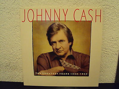 JOHNNY CASH - The greatest hits 1958-1986