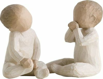 Willow Tree Two Together Figurine Gift for Twins Baby Present Christening Gift