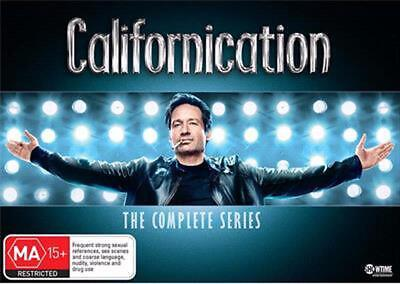 Californication The Complete Series: Season 1-7 Box Set - DVD Region 4 Free Ship