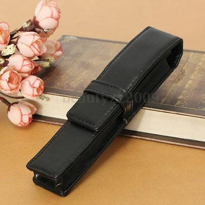 Leather Case Fountain Pen For One Pen Storage Bag Pencil Pouch Holder Gift FKS