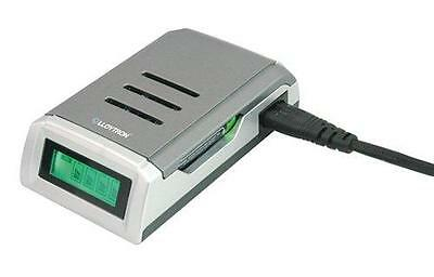 Lloytron B1550 Fast Alkaline NiMH Intelligent LCD Battery Charger Mains Powered