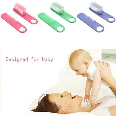 Durable Soft Comfortable Baby Hair Brush With Comb Set Gentle for Babies Toddler