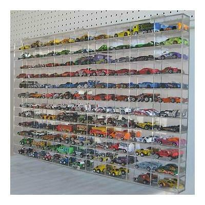 Hot Wheels Display Case 108 compartment 1/64 scale, AHW64-108 High Quality New