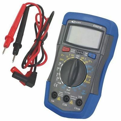 Philex 83001R Test 10A/600V Voltage Current Digital Multimeter Battery Tester