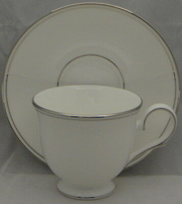 Lenox Federal Platinum  Footed Cup & Saucer