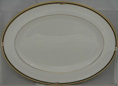 "Wedgwood Clio 15"" Oval Serving Platter (Imperfect)"