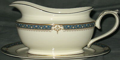 Lenox Whitley Manor Gravy Boat With Underplate