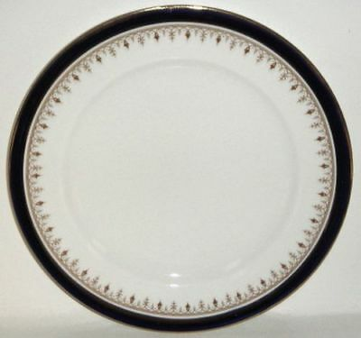 Aynsley Leighton Cobalt Smooth Luncheon Plate (Imperfect)