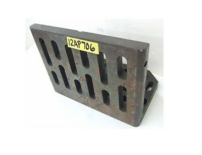 "12"" x 9"" x 8"" Slotted Angle Plate Work Holding Fixture"