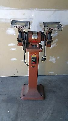 Nice Rockwell Heavy Duty 1/2 Hp Grinder And Pedestal