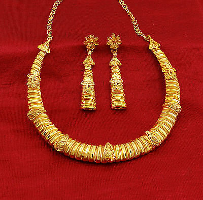 Traditional Bollywood Indian Women 2PC Necklace Set Wedding Party New Jewelry