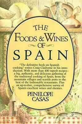 The Foods and Wines of Spain by Penny Cassas (English) Hardcover Book Free Shipp