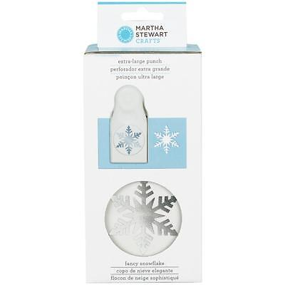 Martha Stewart extra Large 2.5 inch  Craft Punch - fancy Snowflake 42-39005