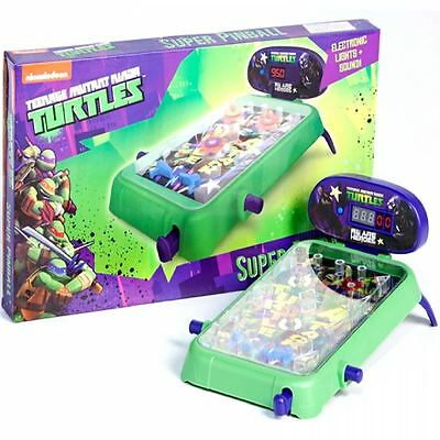 Teenage Mutant Ninja Turtles Elettronico Da Tavolo Gioco Di Flipper Machine Tmnt