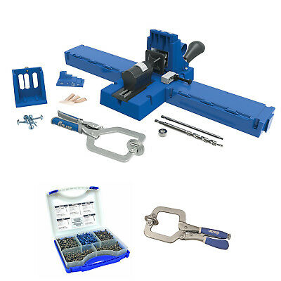 Kreg K5MS K5 Master System With Screw Kit and Face Clamp