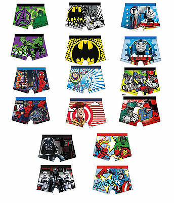 Boys Official Licensed Character Underwear | Boxers | Boxer Shorts | Pants