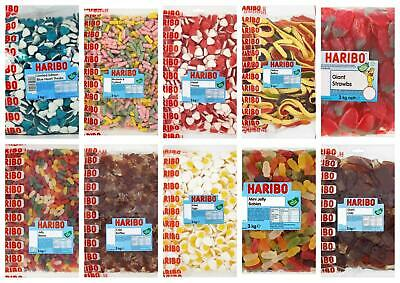 Haribo Sweets - Large 3kg Bags - Multi Listing - Pick a Favourite
