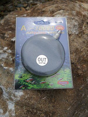 3 Inch or 80mm Diameter Sintered Stone Aeration Airstone for Aquarium or Pond