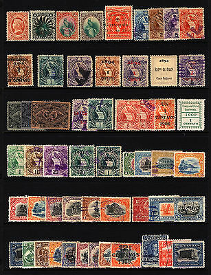 Guatemala 1875-1926 Mostly Used Collection, 54 items