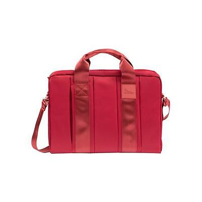 RIVACASE 8830 Red , Nylon Bag with Adjustable Strap for 15.6 Inch Laptops