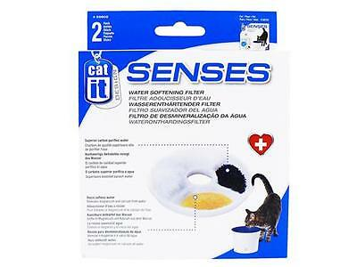 Hagen Cat It Senses Water Softening 3 ltr Fountain Filter 2 Pack 55602 Kitten