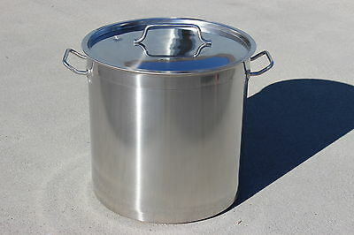 CONCORD Triply Bottom Stock Pot Stainless Steel Home Brew Kettle Beer Mash Tun