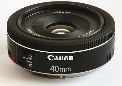 Brand New Canon Ef 40Mm F/2.8 Stm Lens