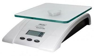 Wahl James Martin ZX774 Glass Top Digital Food Scales White Black 5Kg Battery