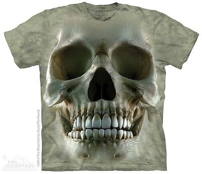New The Mountain Big Face Skull T Shirt