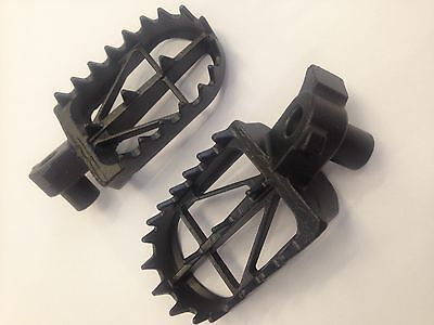 Ktm Sx Sxf 125 250 300 400 450 525  1998-2015  Drc Low Wide  Foot Pegs  Rests