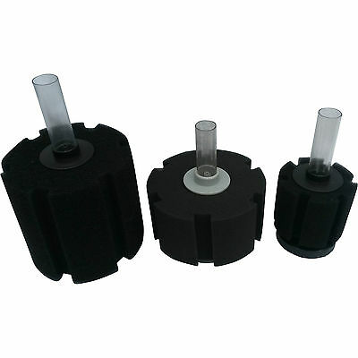 Air Operated Bio Sponge Filter For Aquariums 3 Sizes Available