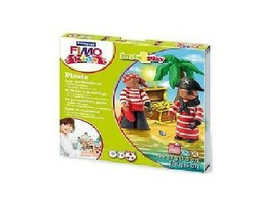 Fimo Kits For Kids Form & Play Polymer Modelling Oven Bake Clay - SET PIRATE