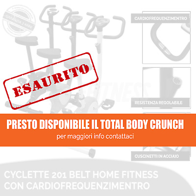 Offerta Ciclette Belt Fitness Power Bike Home Cardio Allenamento Bici Da Camera