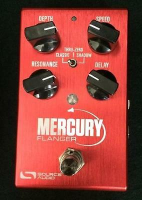NEW SOURCE AUDIO ONE SERIES MERCURY FLANGER PEDAL w/ FREE CABLE & 0$ US SHIPPING