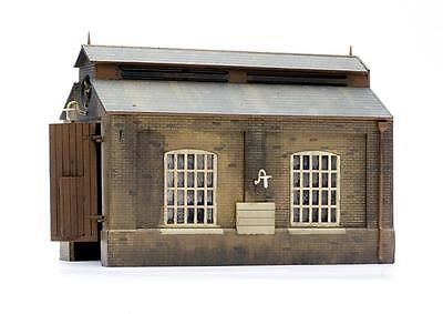 ENGINE SHED Dapol C007 Grey Plastic KIT 00/HO Gauge 1/76 Model Railways