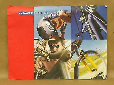 Vtg Ritchey Bicycle Brochure Catalog Mountain Road Bike Cycle Racing P-21 Specs