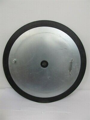 Westward 45M941, Rubber Follower Plate - for 5NUE5 Grease Pump
